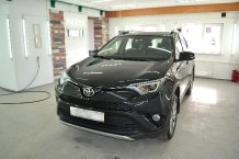 Toyota raw 4 2015 г.в ceramic PRO 9H полировка и Керамик ПРО_3