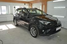 Toyota raw 4 2015 г.в ceramic PRO 9H полировка и Керамик ПРО